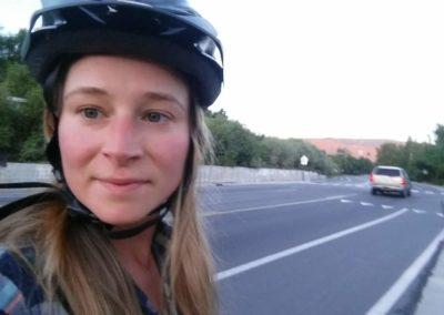 Helmet Selfie!